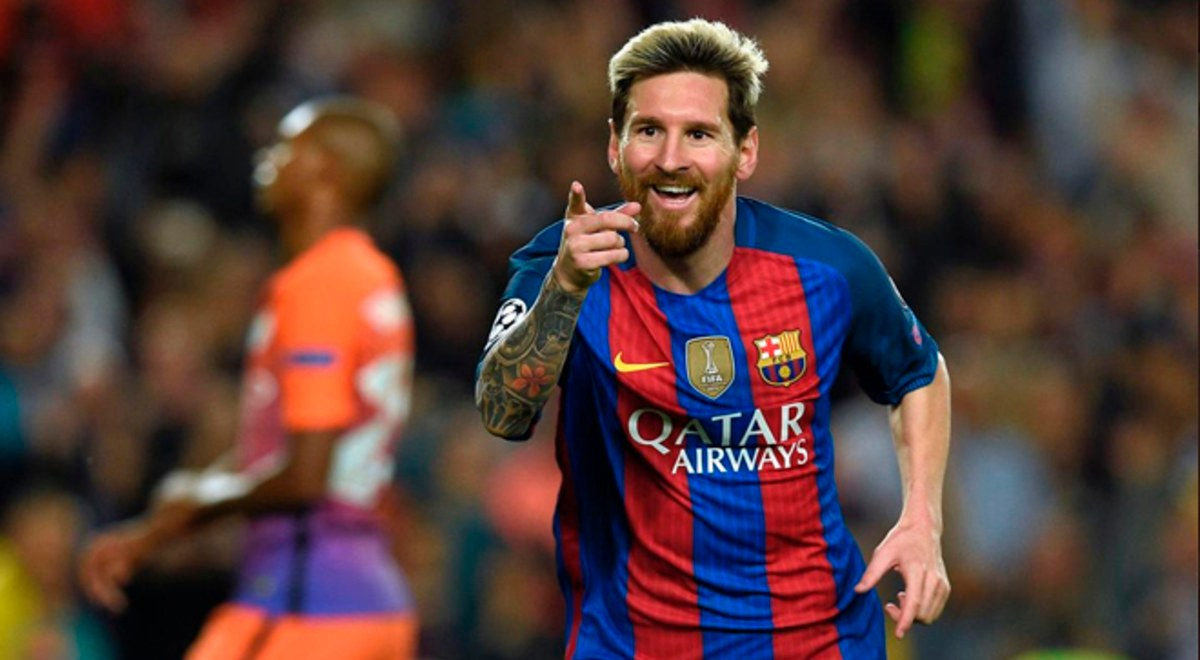 Man City Messi