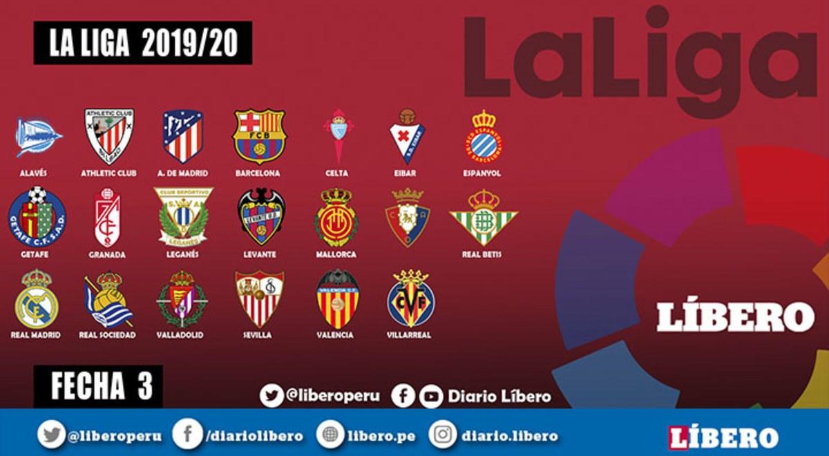 LaLiga Santander EN VIVO ESPN programación y tabla de ...