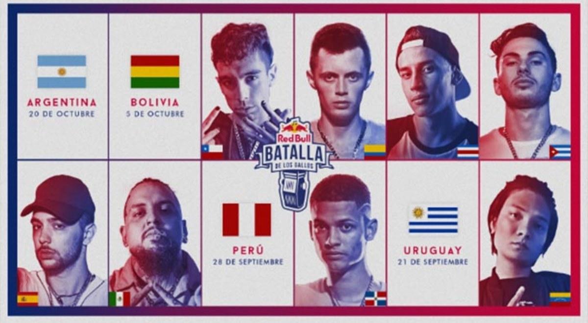 Red Bull Batalla De Gallos Conoce A Los Clasificados A La Final Internacional 2019 En Vivo Final Nacional Perú Freestyle Twitter Fotos Libero Pe