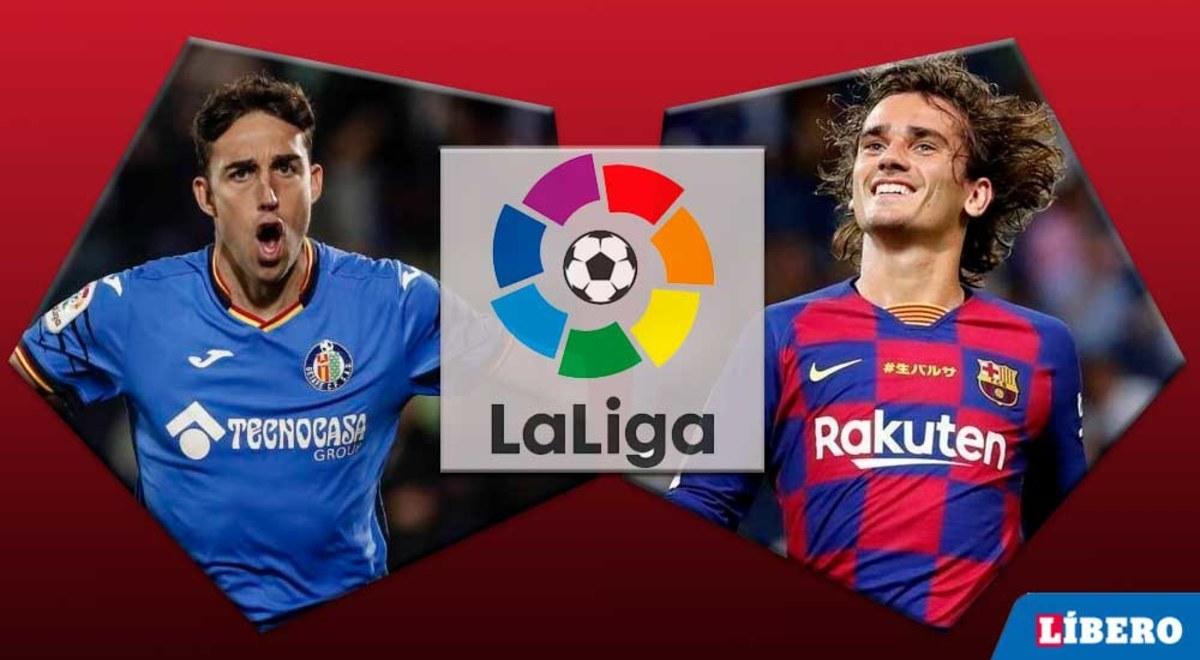 Getafe vs Barcelona EN VIVO por la ...