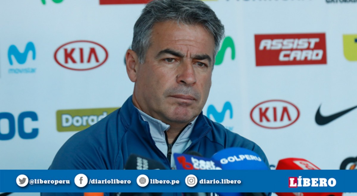 Bengoechea se pronunció sobre los jugadores Sub-23 que podrá contar para duelo ante Sport Huancayo - Libero.pe