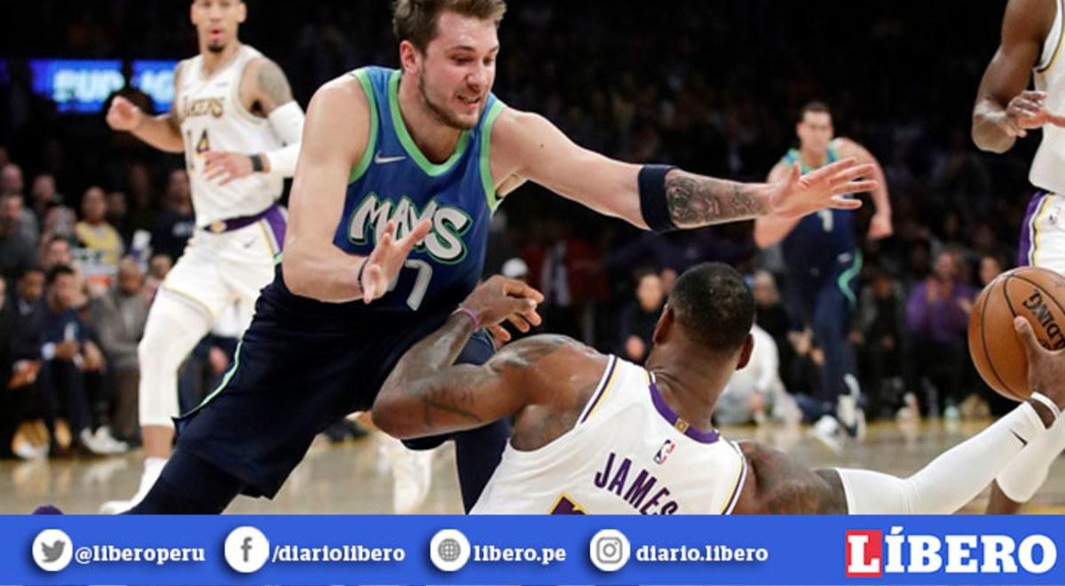 Lakers Perdio 110 114 Ante Mavericks Y Le Dijo Adios A Record De Victorias En La Nba