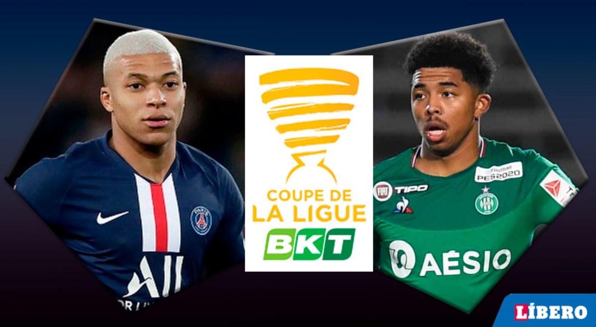 Xem lại PSG vs Saint-Etienne, Cúp Pháp – 09/01/2020