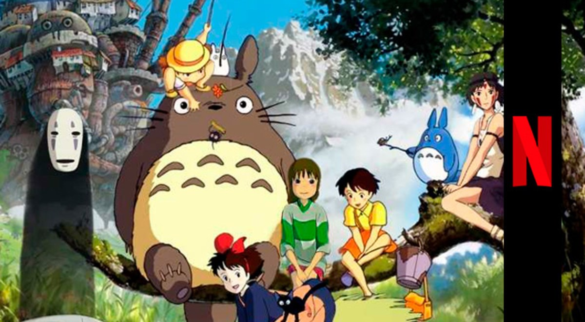 Netflix El Viaje De Chihiro Studio Ghibli Mi Vecino Totoro Estrenos 2020 Youtube Video Libero Pe