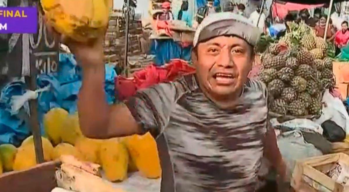 Coronavirus: comerciante hace descuentos en frutas solo para hinchas de Alianza Lima | VIDEO | Cuarentena Nacional | libero.pe