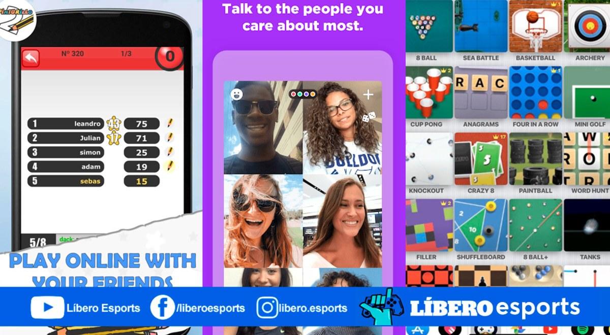 10 Apps Gratis Para Jugar Online Con Amigos En La Cuarentena Libero Pe