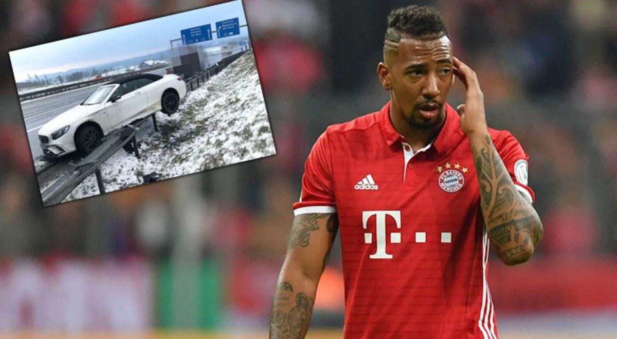 Tai nạn kinh hoàng, sao Bayern may mắn thoát chết