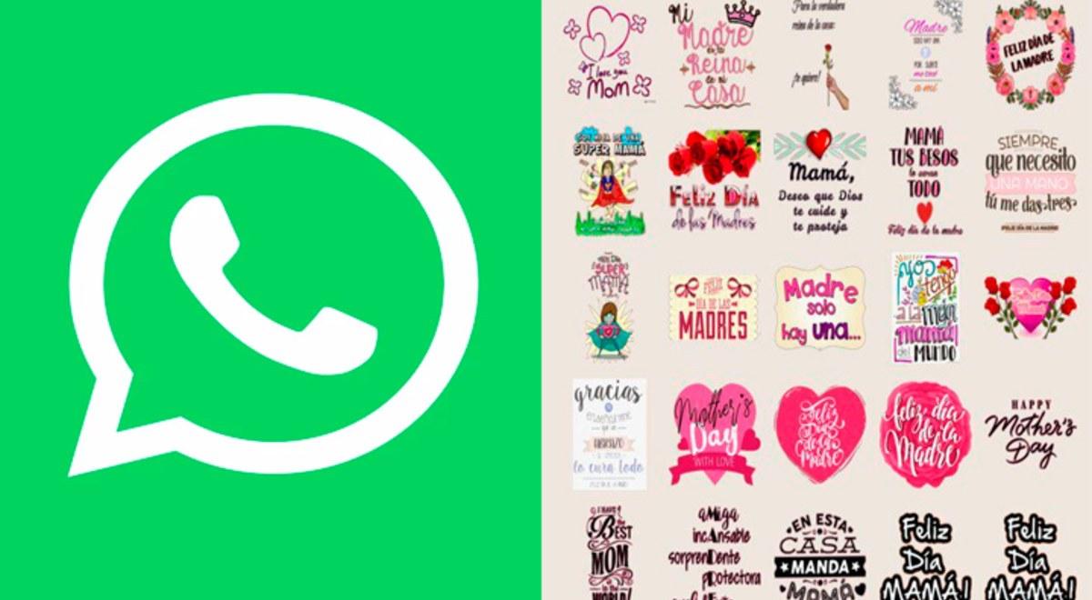 Día de la Madre | WhatsApp: cómo descargar los stickers para rendir homenaje a mamás | Wssp | Android | iOS | libero.pe
