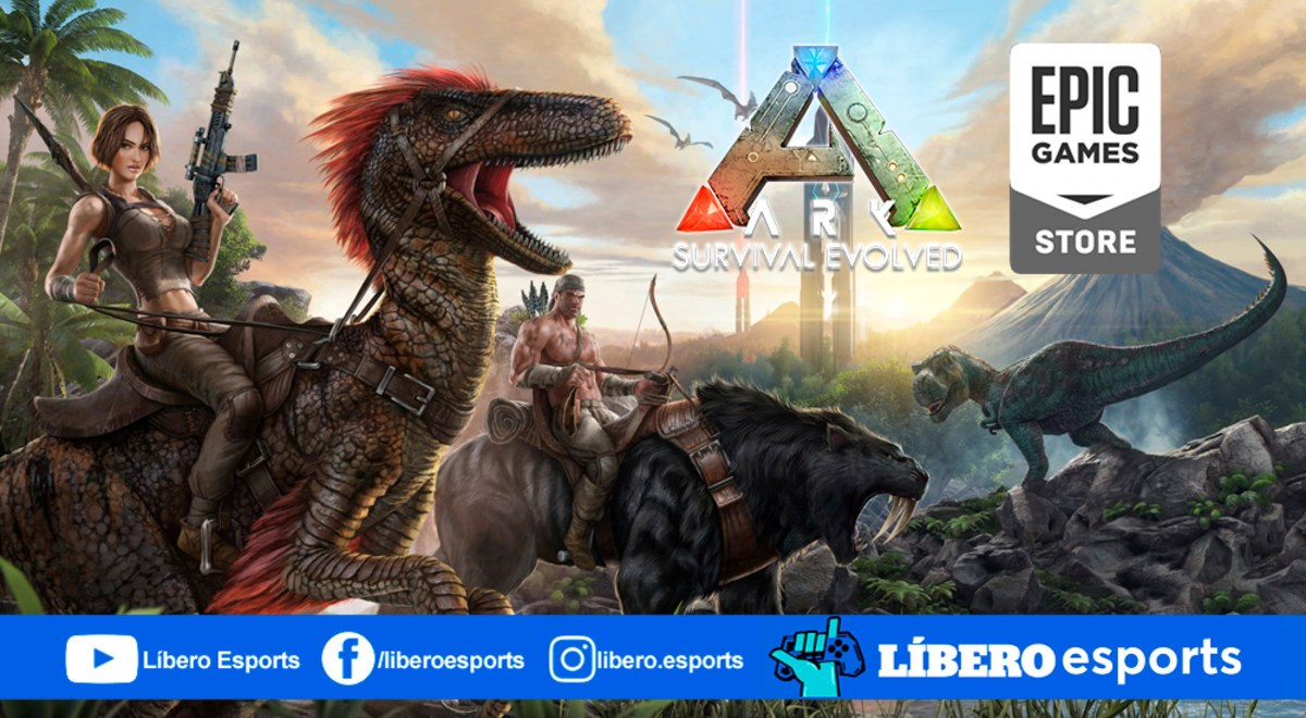 Descarga Ark: Survival Evolved gratis en Epic Games Store ...