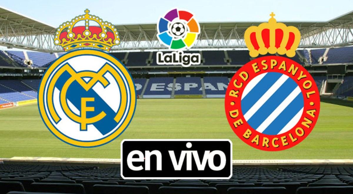 Laliga Real Madrid Venció 1 0 A Espanyol Y Quedó A Tiro De Alcanzar El Titulo De La Liga Española Libero Pe