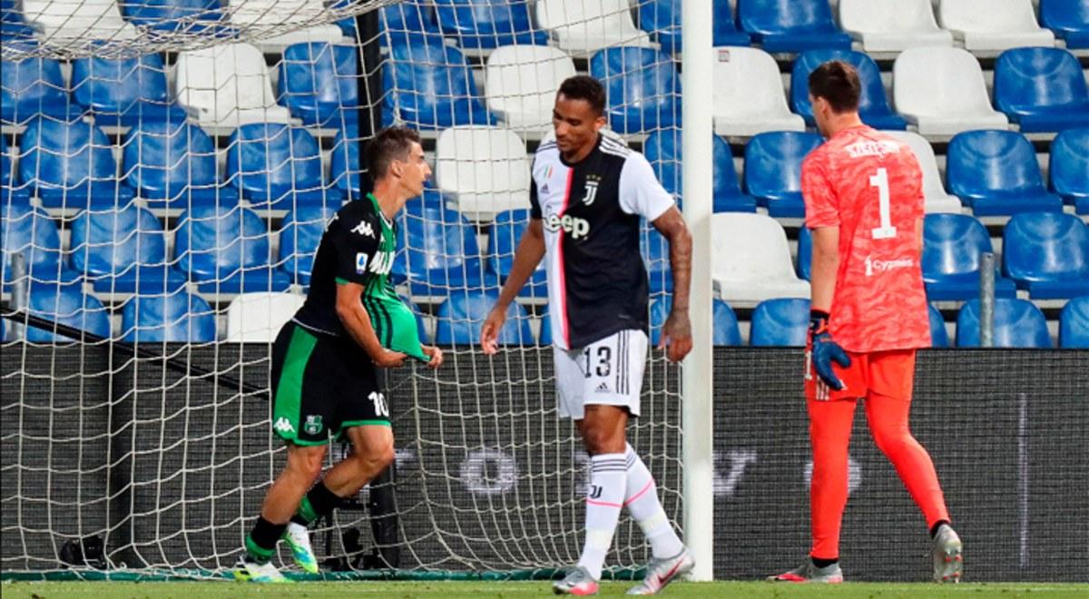 Juventus Vs Sassuolo RESUMEN 3 3 YouTube Resultados