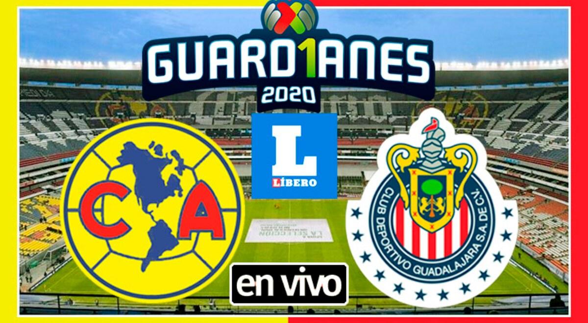 Ver America Chivas En Vivo El Clasico Nacional Hoy Por Liga Mx En El Estadio Azteca