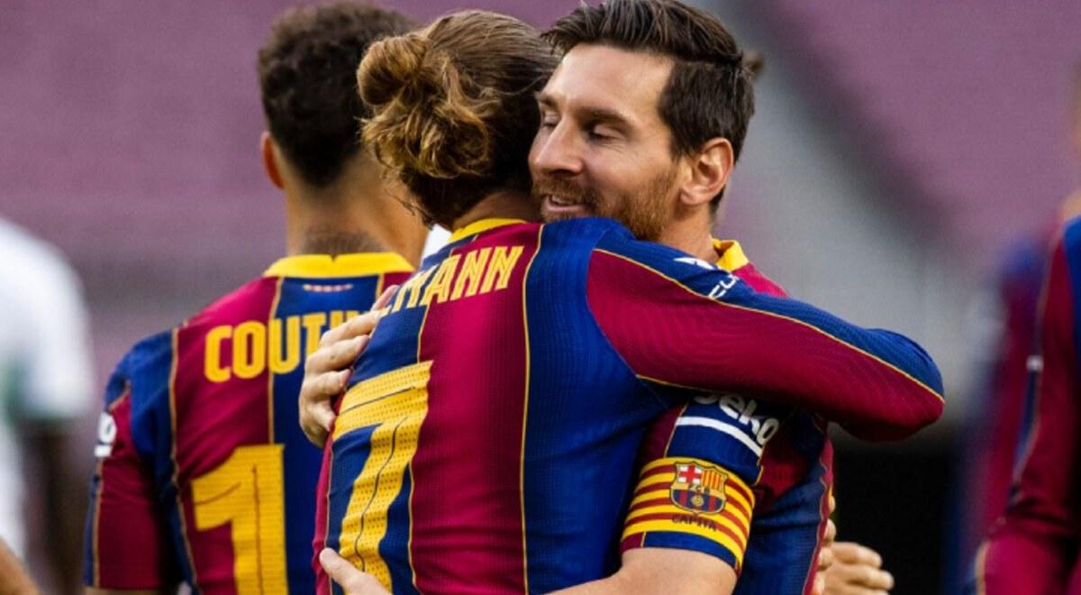 Barcelona venció 1-0 al Elche por la Copa Joan Gamper gol de Antoine Griezmann Lionel Messi Fútbol Internacional España  | libero.pe