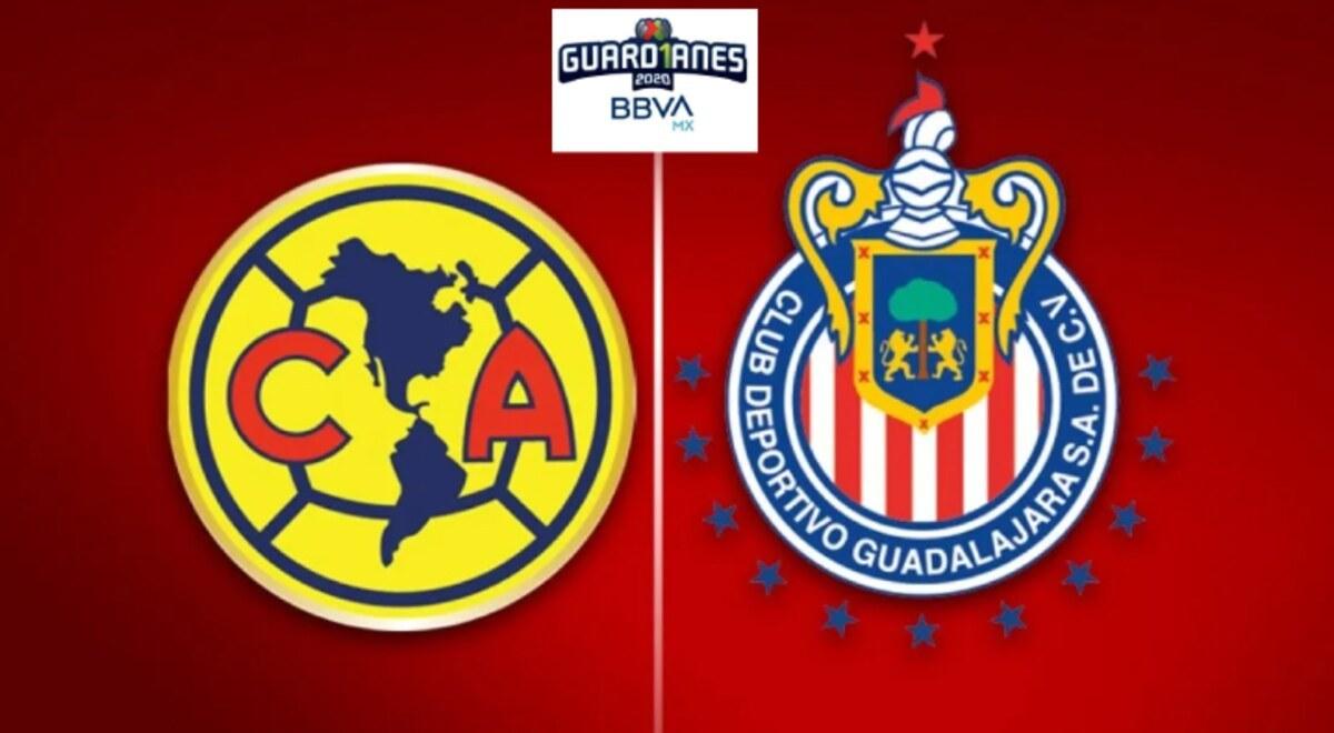 America Vs Chivas Ver En Vivo Hoy Clasico Nacional Por La Jornada 11 Del Guard1anes 2020 En Liga Mx