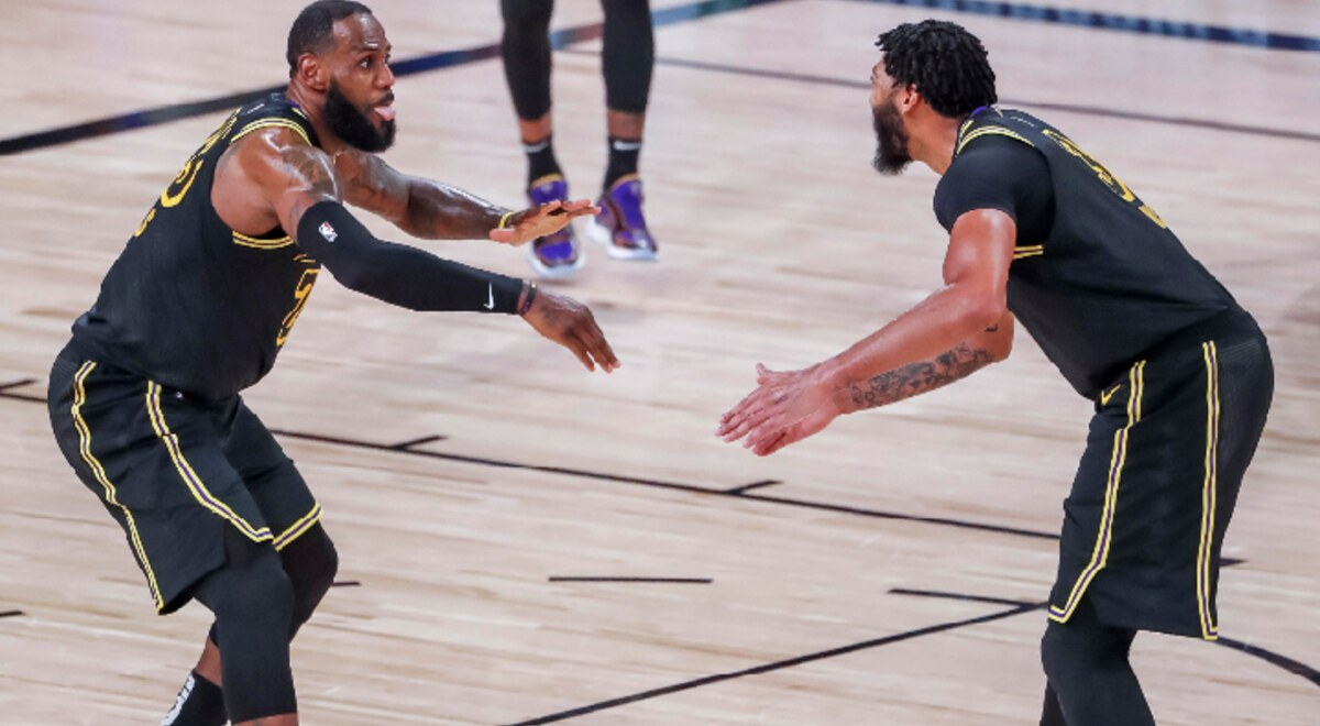 Anthony Davis | NBA resultados Lakers vs Nuggets resumen Game 2 NBA Finals 2020 Lebron James Basket VIDEO YouTube | libero.pe