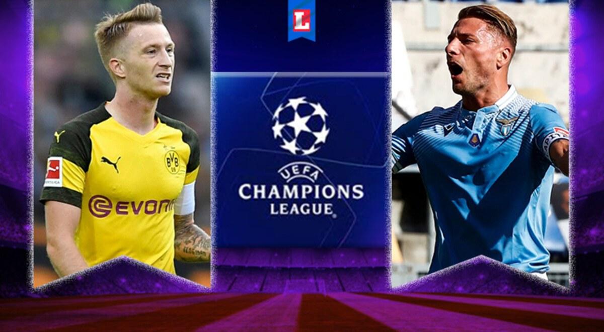 Lazio vs Borussia Dortmund EN VIVO FOX Sports Horario y ...