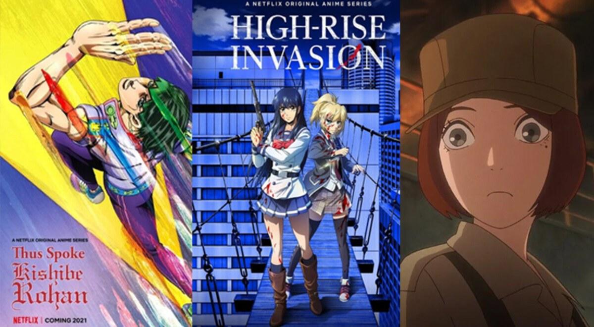 Anime Netflix 2021