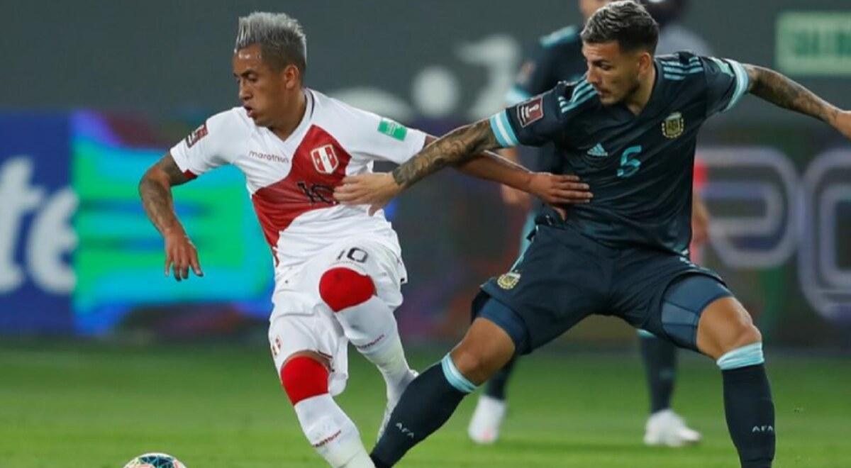 Perú no pudo con Argentina y cayó 2-0 en el Nacional de Lima por las  Eliminatorias Qatar 2022 | libero.pe