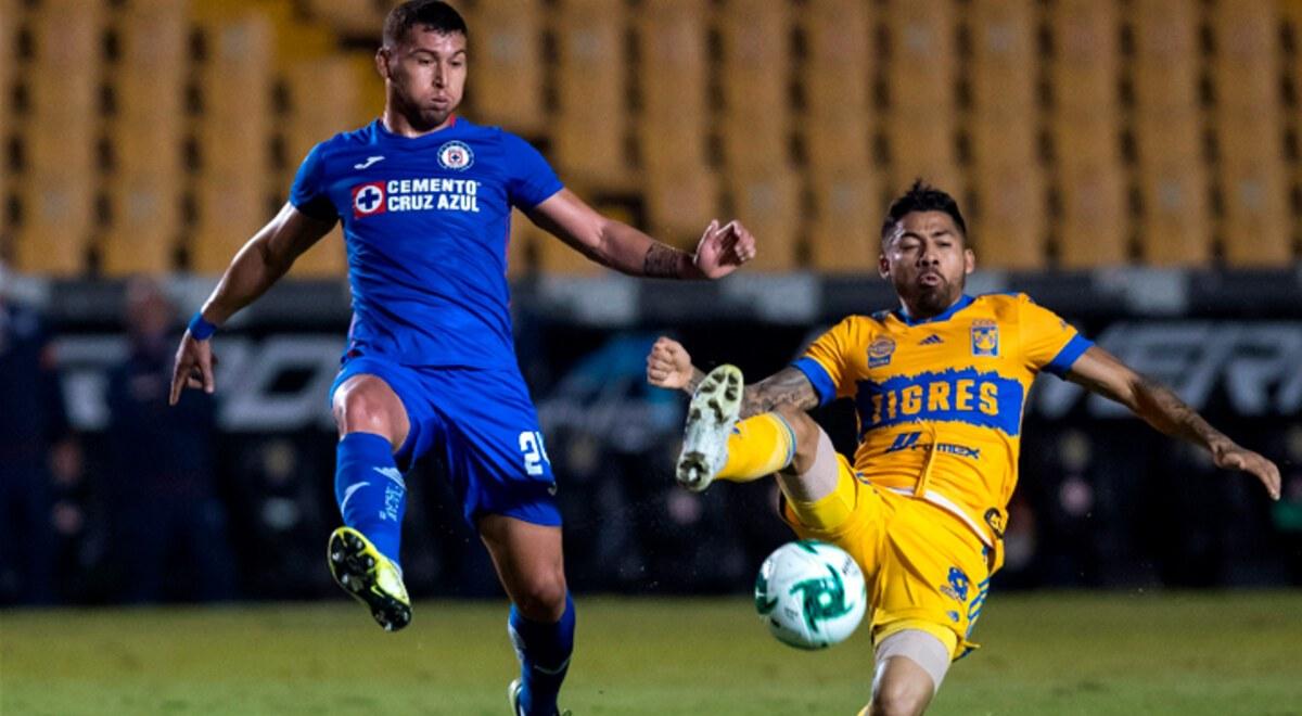 Tigres vs Cruz Azul RESUMEN 1-3 YouTube resultados estadisticas videos  goles partido Liga MX Resultado final VIDEO   libero.pe