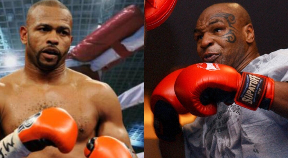 Mike Tyson Roy Jones Jr