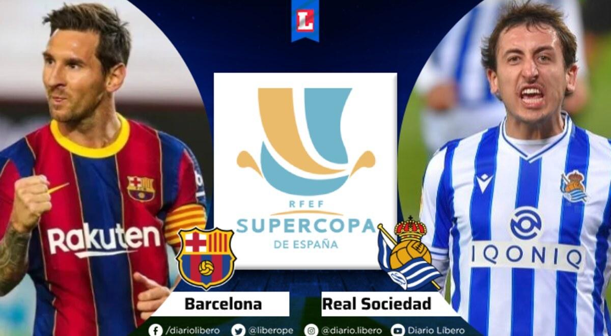 Barcelona vs Real Sociedad EN VIVO DirecTV Horarios TV ...