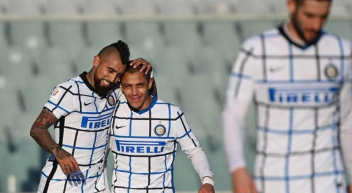Inter venció 2-1 Fiorentina clasificó cuartos de final Copa Italia gol cabeza Lukaku última jugada cuartos de final Milán  | libero.pe