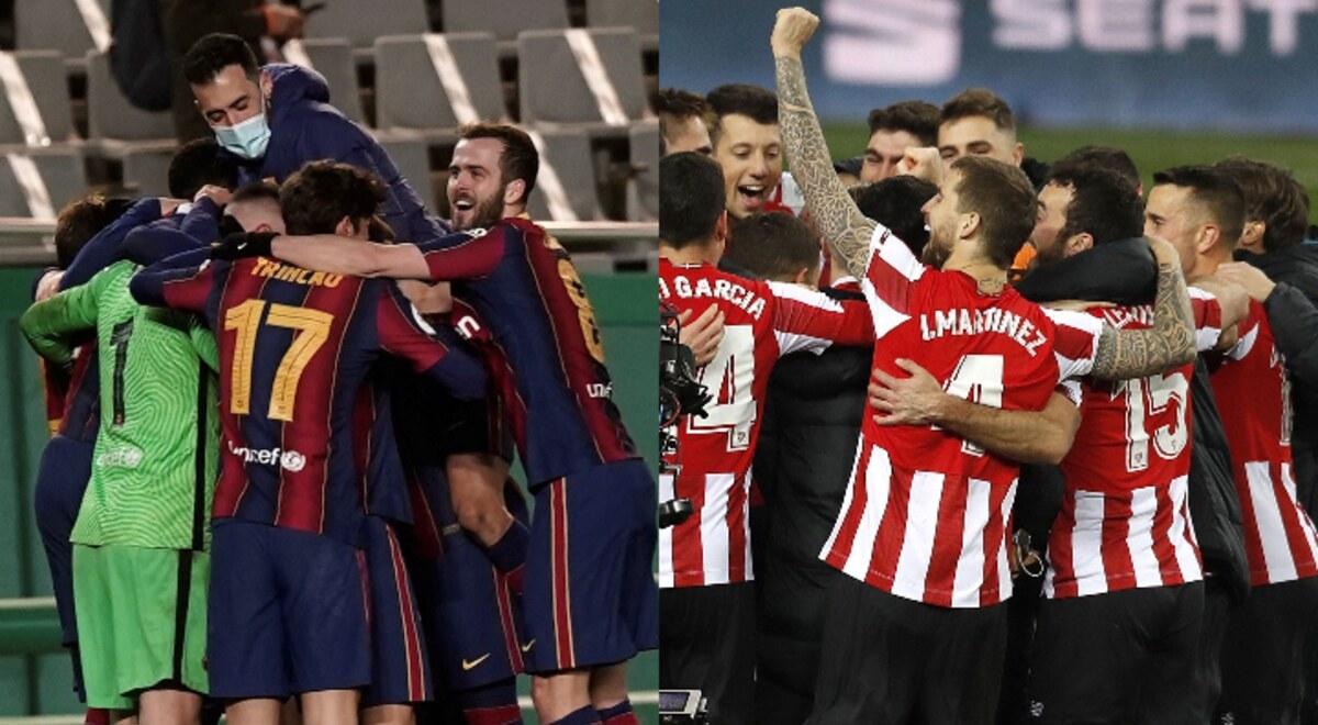 Barcelona vs Athletic Bilbao EN VIVO Fecha Dia Hora Canal Movistar Vamos TV Partido Final Supercopa de Espana Pronostico Barca Apuestas Horarios Canales DirecTV ESPN SKY Estadio | libero.pe