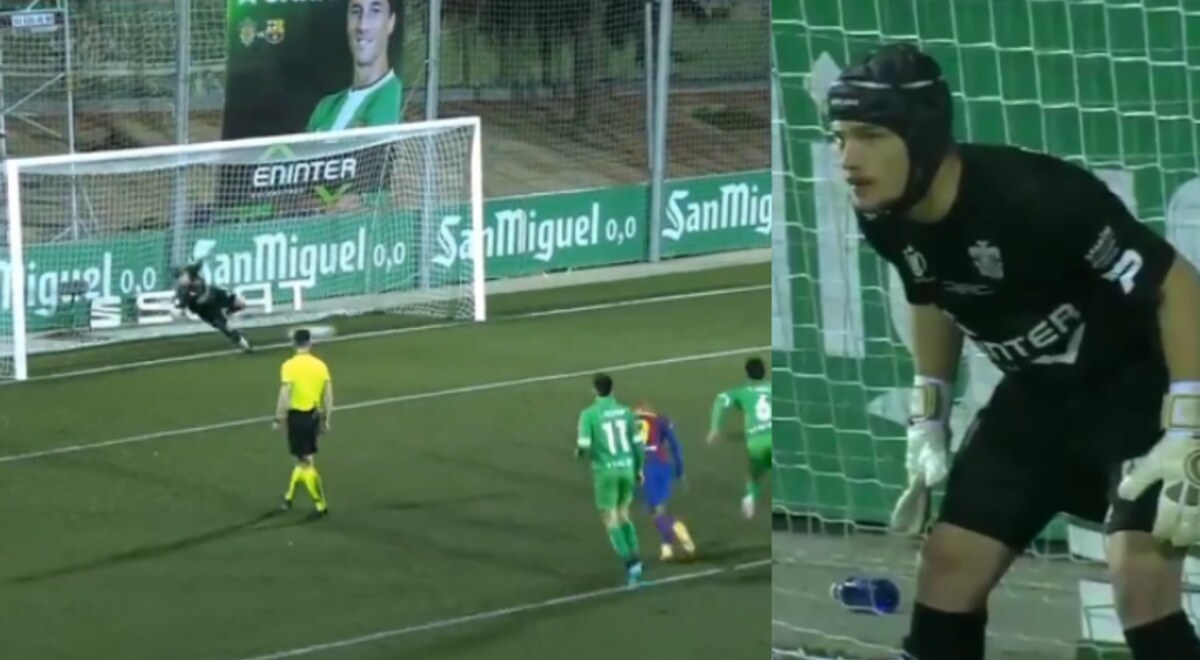 Barcelona vs Cornellá VIDEO penales Ramón Juan atajadas ...