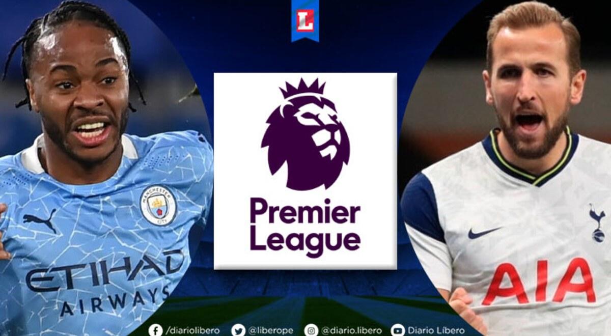 Partidos de HOY Manchester City vs Tottenham EN VIVO ESPN 2 Hora Canal TV Links Formaciones cuando juegan y donde ver partido Premier League SKY Sports Pep Guardiola Jose Mourinho | libero.pe