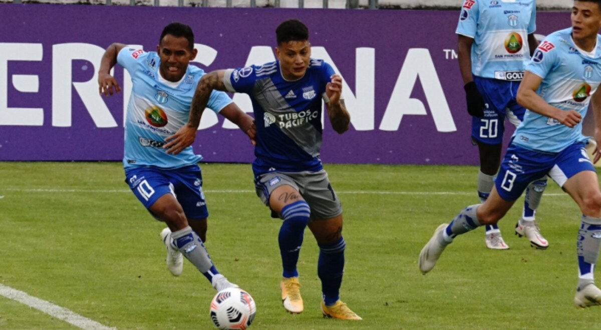 Emelec 2-2 Macara resumen highlights goles partido ida primera ronda Copa  Sudamericana Estadio Bellavista de Ambato Horario Quito Ecuador | libero.pe
