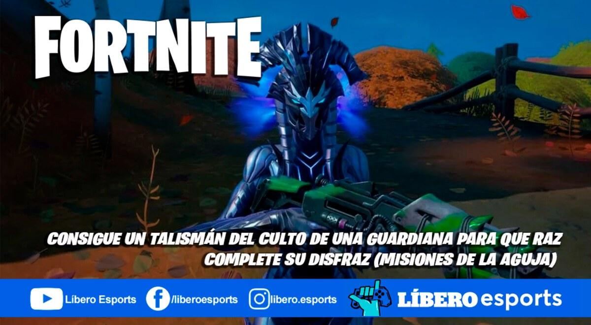 Explosion De La Aguja Fortnite Fortnite Consigue Un Talisman Del Culto Para Que Raz Complete Su Disfraz Misiones De La Aguja Video
