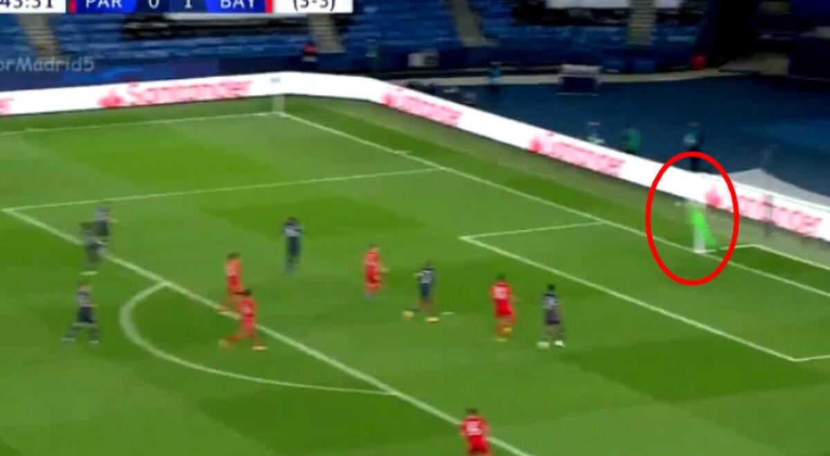 PSG vs Bayern Múnich EN VIVO Keylor Navas atajada disparo ...