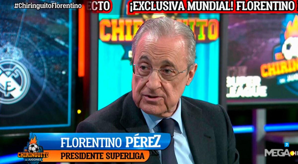 Superliga Europea El Chiringuito Florentino Perez asegura ...