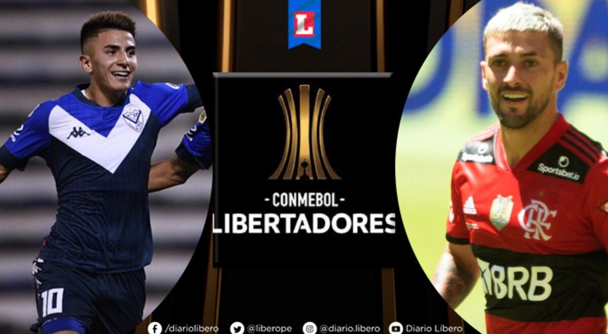 ESPN 2 EN VIVO Velez Sarsfield vs Flamengo apurogol EN DIRECTO ESPN PLAY  por INTERNET FOX Sports ONLINE a que hora juegan Partido de hoy Copa  Libertadores GRATIS Estadio Jose Amalfitani |