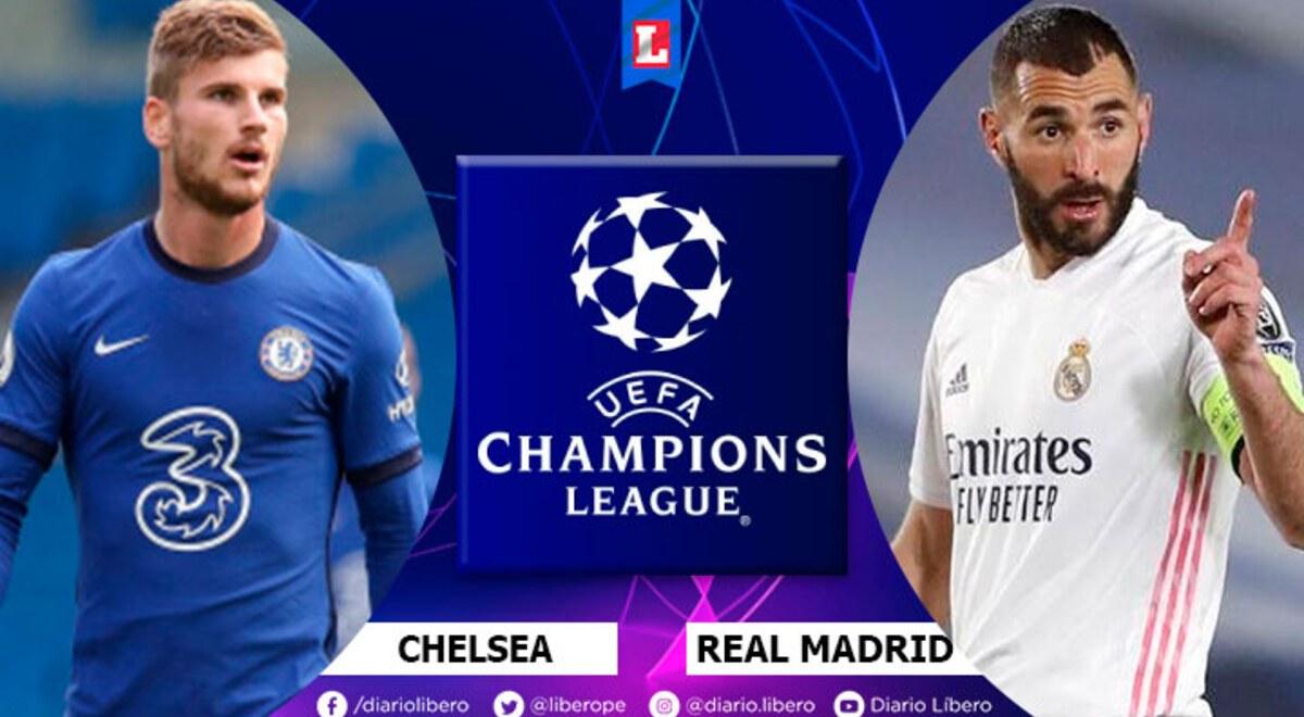 Chelsea vs Real Madrid EN VIVO ESPN FOX Sports 2 Hora ...