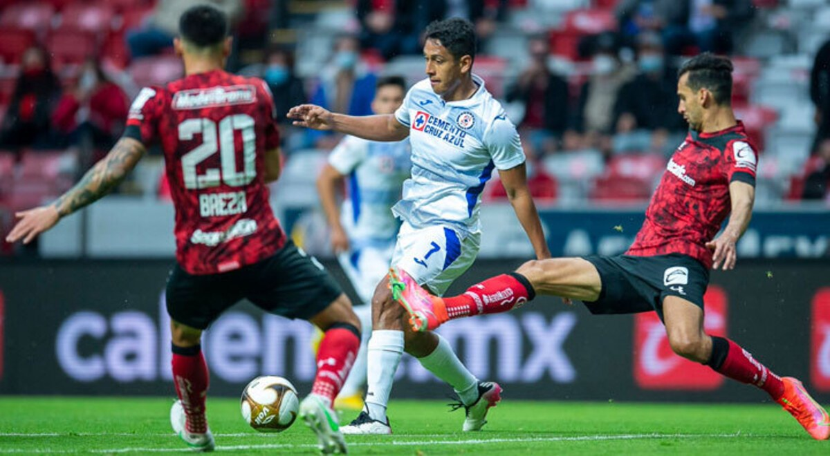 Toluca vs Cruz Azul Resumen Juan Reyoso perdió partidos invictos Goles  Liguilla Guardianes 2021 Liga MX fútbol mexicano cdmx