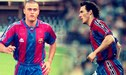 PSG vs. Barcelona: Luis Enrique y Laurent Blanc se volverán a ver después de 18 años, ahora como técnicos [VIDEO]
