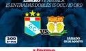 Sporting Cristal vs. Sport Huancayo: conoce a los ganadores de las 15 entradas dobles