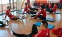 Selección Peruana entrenó en su hotel con miras a amistoso ante Colombia