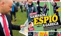 """Perú vs. Chile: prensa 'mapocha' asegura que Sampaoli, """"tiene costumbre de enviar espías a los rivales"""" [VIDEO]"""