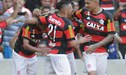 Paolo Guerrero y su genial pase de pecho para el 1-0 del Flamengo ante Ponte Preta [VIDEO]