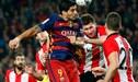 Barcelona venció 3-1 a Athletic Bilbao y avanzó a la semifinal de la Copa del Rey [VIDEO]