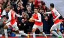 Arsenal venció 2-1 a Leicester City y acecha la punta de la Premier League | FOTOS Y VIDEO