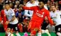 Liverpool venció 2-0 a Manchester United por la Europa League VIDEO