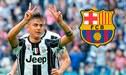 Barcelona hizo oferta por Paulo Dybala y así respondió la Juventus