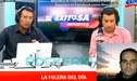 Carlos 'Tigrillo' Navarro arremetió contra Coki Gonzales en pleno programa radial [VIDEO]