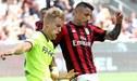 Gianluca Lapadula anota un gol y mete al AC Milan a la Europa League [VIDEO]