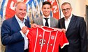 """James Rodríguez fue presentado Bayern Munich: """"Lo voy a dar todo para ganar títulos"""" [VIDEO]"""