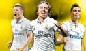 Real Madrid tiene ocho volantes y solo tres serán titulares
