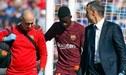 Barcelona: Dembélé fue operado hoy y regresa antes de lo esperado